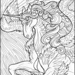 Unicorn Coloring Pages for Adults Amazing Printable Unicorn Coloring Pages Baffling Unicorn Coloring Pages
