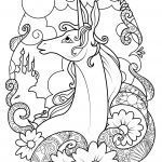Unicorn Coloring Pages for Adults Amazing Unicorn Coloring Pages for Adults Unicorn Coloring Pages Beautiful