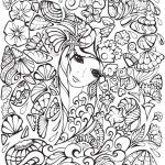Unicorn Picture to Print Marvelous New Unicorn Rainbow Coloring Page 2019