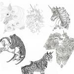 Unicorn Printable Coloring Pages Elegant Coloring Free Printable Unicorn Coloring Pages Ideas Fun for