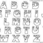 Uppercase Bubble Letters Inspiration Alphabet Bubble Letter Coloring Pages Best Teach Your Kids their