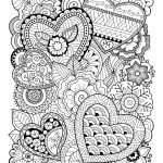 Valentine Color Pages Printable Awesome Valentine S Day Coloring Pages Ebook Zentangle Hearts