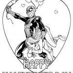 Valentine Coloring Page Brilliant Printable Valentine Coloring Pages Inspirational Superhero Coloring
