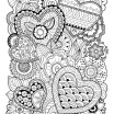 Valentine Day Coloring Page Inspirational Valentine S Day Coloring Pages Ebook Zentangle Hearts
