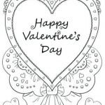 Valentine Day Coloring Pages Inspirational V Day Coloring Pages Valentine Color Valentines Free for