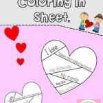 Valentine Day Coloring Sheets Awesome Valentines Day Coloring In Sheet by the Busy as A Bee Teacher