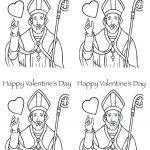 Valentine Day Coloring Sheets Inspirational Saint Valentine Coloring Page – Golfpachuca