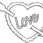 Valentines Day Hearts Coloring Pages Best Of Coloring Pages Heart Coloring Pages for Kindergarten Page Free