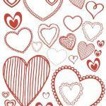Valentines Day Hearts Coloring Pages Inspirational Coloring Pages and Printables for Valentine S Day