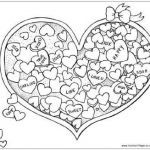 Valentines Day Hearts Coloring Pages Inspirational Valentine Candy Hearts Coloring Pages