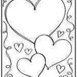 Valentines Day Hearts Coloring Pages New Beautiful Best Friend Heart Coloring Pages – Lovespells