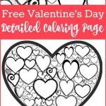 Valentines Day Hearts Coloring Pages New Happy Valentines Day Coloring Pages Inspirational How to Draw A
