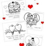 Valentines Day Hearts Coloring Pages New Valentines Day Childrens Coloring Pages Luxury Christian Valentine S