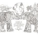 Vintage Coloring Pages for Adults Fresh Elephant Coloring Pages for Adults Best Coloring Pages for Kids