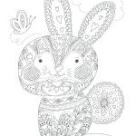 Vintage Coloring Pages for Adults Inspirational Bunny Coloring Page Rabbit Pages for Adults Colouring Free Baby