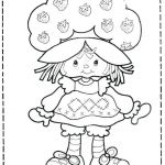 Vintage Coloring Pages for Adults New Vintage Strawberry Shortcake Pages Free Printable Color Sheets