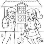 Welcome Back to School Coloring Pages Excellent Colouring Pages for Kids From Activity Village