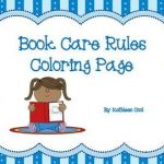 Welcome Back to School Coloring Pages Exclusive Book Care Rules Coloring Page and Bookmarks Free