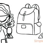Welcome Back to School Coloring Pages Inspirational Back to School Worksheets for Preschoolers