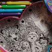 Where to Buy Lisa Frank Coloring Books Elegant Lisa Frank Kit Marquee Kit New In Box Unicorn Husky Peace Sign