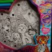 Where to Buy Lisa Frank Coloring Books Inspiration Lisa Frank Kit Marquee Kit New In Box Unicorn Husky Peace Sign