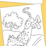 Wild Kratts Coloring Book Awesome Cheetah Coloring Pages