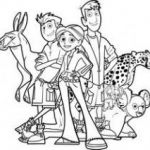 Wild Kratts Printables Amazing Wild Kratts Coloring Pages