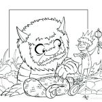 Wild Kratts Printables Beautiful where the Wild Things are Coloring Pages – Sugarbucketink
