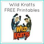 Wild Kratts Printables Best 42 Best Wild Kratts Birthday Party Images In 2015