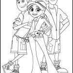 Wild Kratts Sheets Exclusive Wild Kratts Coloring Page Grace