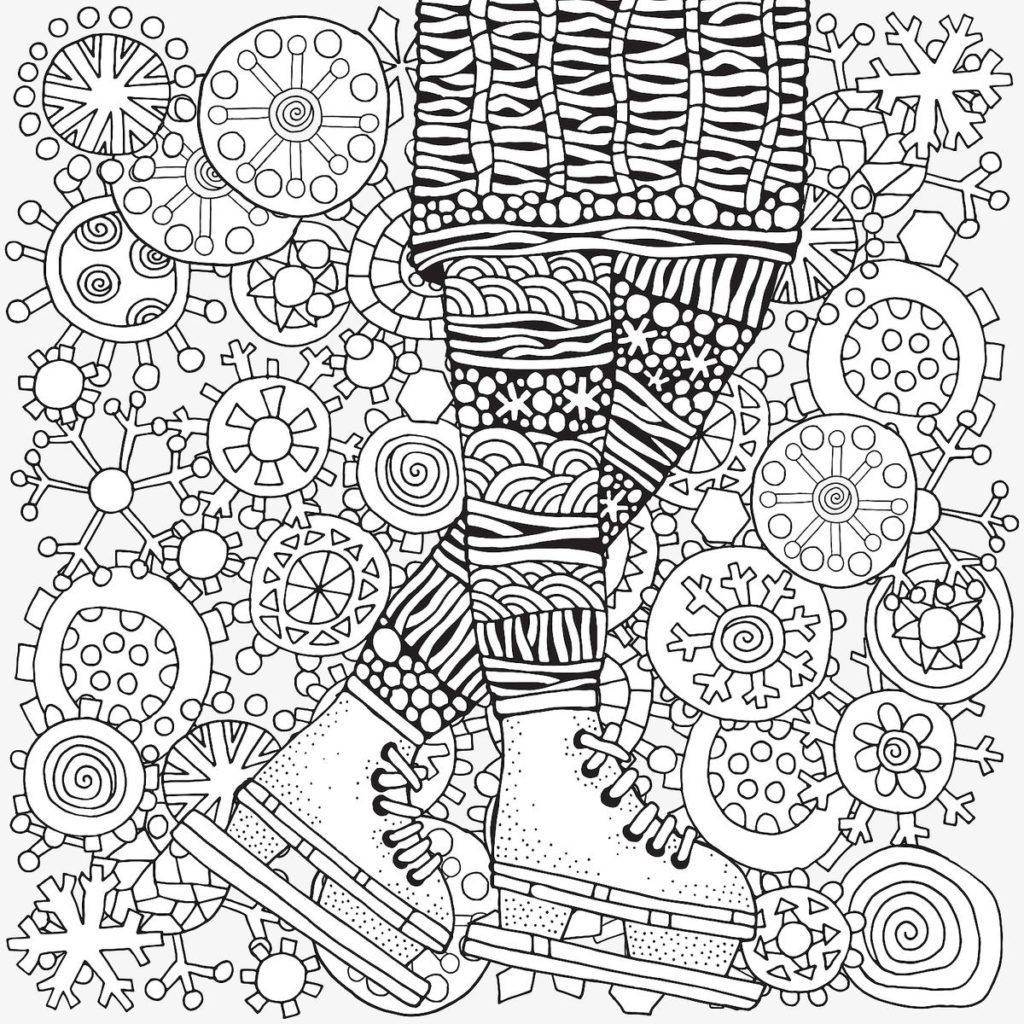 Winter Coloring Pages Seasons Coloring Pages