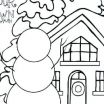 Winter Coloring Pages for Adults Best Snowball Fight Winter Coloring Pages Line Halloween Cat Pdf