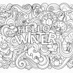 Winter Coloring Sheets Inspirational Suprising Coloring Pages soup for Adults Picolour