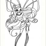 Winx Club Coloring Pages Amazing Winx Club Aisha and Piff