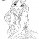 Winx Club Coloring Pages Awesome Beautiful Winx Club Coloring Page 2019
