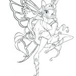 Winx Club Coloring Pages Beautiful Winx Club Bloomix Coloring Pages – Caionascimento