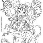Winx Club Coloring Pages Exclusive Bloom Transformation Sirenix Coloring Pages Hellokids