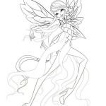 Winx Club Coloring Pages Inspiration Beautiful Winx Club Coloring Page 2019