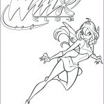 Winx Club Coloring Pages Inspirational Flora Coloring Pages – Spikedsweettea