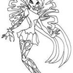 Winx Club Coloring Pages Inspirational Winx Club Dark Bloom Coloring Pages Luxury Winx Club Pixies Coloring