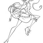 Winx Club Coloring Pages Inspirational Winx Coloring Pages Printable Elegant Coloring Printables 0d – Fun