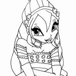 Winx Club Coloring Pages Marvelous Pixies Coloring Pages