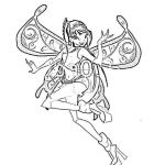 Winx Club Coloring Pages Pretty Winx Club Coloring Pages