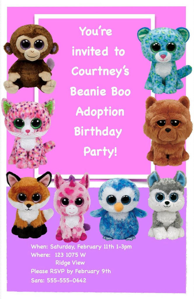 Wishful Beanie Boo Amazing Beanie Boo Birthday Party Kit Everything You Need for Your