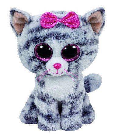Wishful Beanie Boo Marvelous Love This Kiki the Gray Cat Beanie Boo On Zulily Zulilyfinds