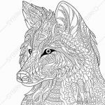 Wolf Coloring Pages Beautiful Stunning Coloring Pages Wolf for Girls Picolour