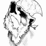 Wolf Coloring Pages Exclusive Fresh Black and White Wolf Coloring Pages – Nicho