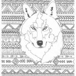 Wolf Coloring Pages Realistic Inspirational Free Printable Wolf Coloring Pages for Kids and Monesmapyrene