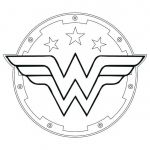 Wonder Woman Coloring Book Creative Wonder Woman Symbol Coloring Pages – Highfiveholidays