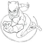 Wonder Woman Printable Amazing Of Catwoman Coloring Pages asteknikyapi